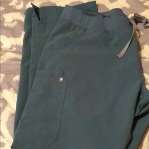 Figs XL Hydrogreen  Kade Scrub Pants Reg length